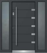 vokiskos lauko durys dazu spalva ral 7015