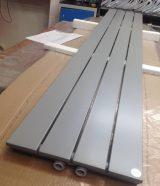 pilkos spalvos radiatorius RAL 9006